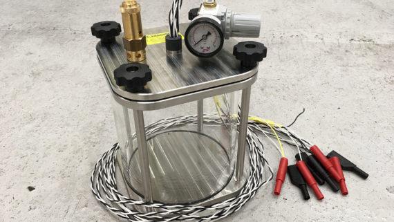 Application example of SR-TEK Clear Pressure Tank